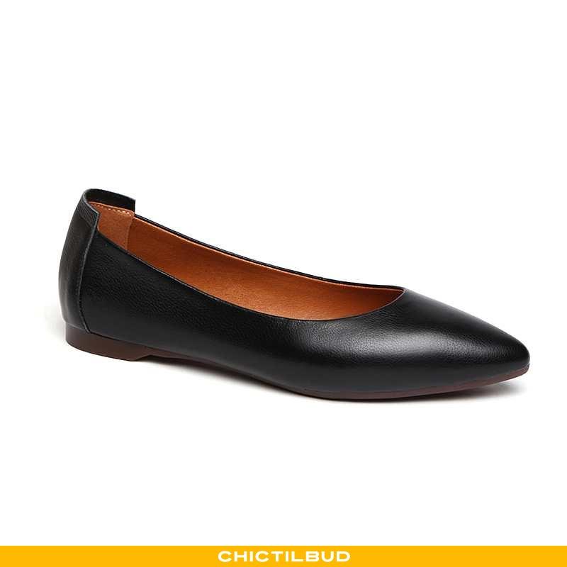 Loafers Dame Mokkasin Læder Flade 2020