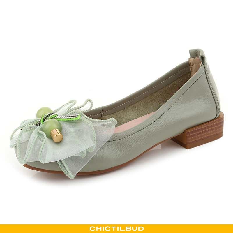 Loafers Dame Mokkasin Læder Sommer 2020