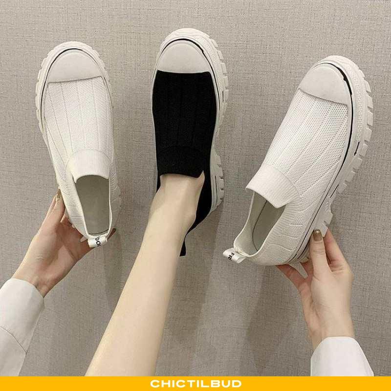 Loafers Dame Strikket Sommer 2020
