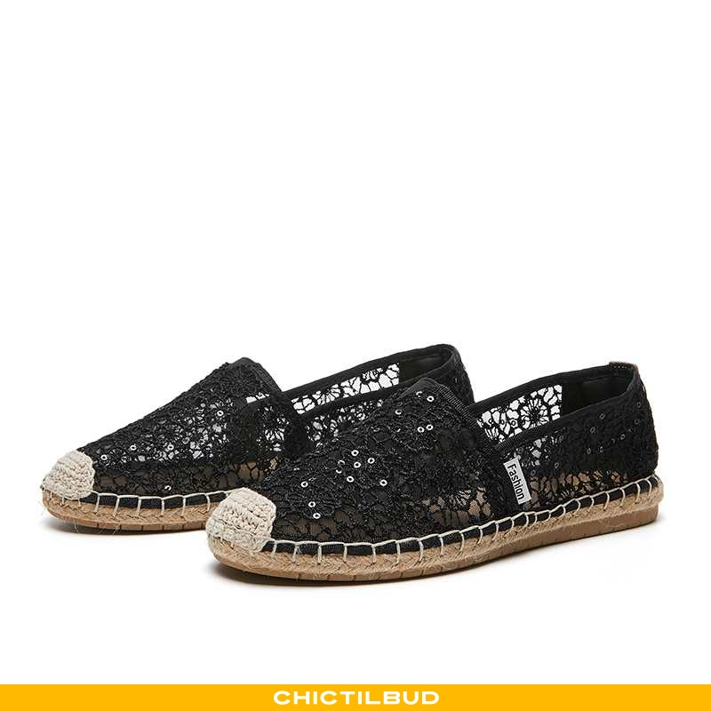 Loafers Dame Tyl Flade Duftende