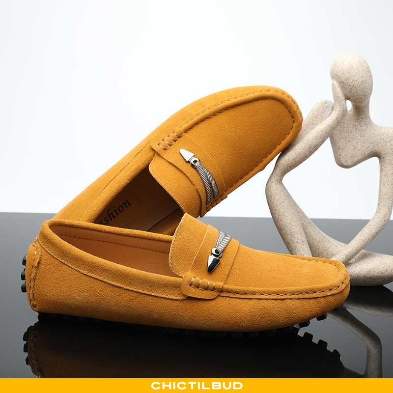 Loafers Herre Lædersko Læder Casual Åndbare