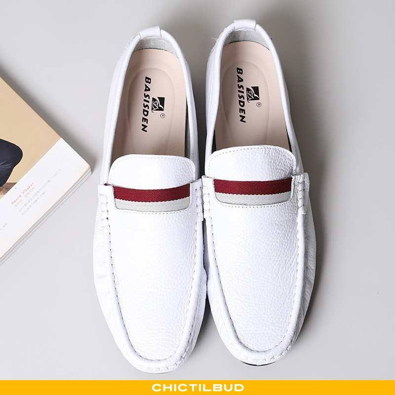Loafers Herre Lædersko Læder Casual Bløde Såler