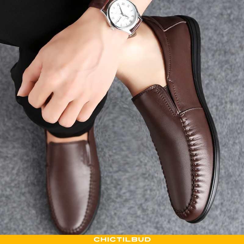 Loafers Herre Lædersko Læder Casual Britisk