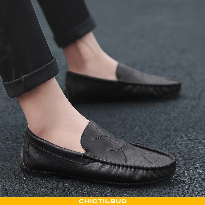 Loafers Herre Mokkasin Casual Britisk