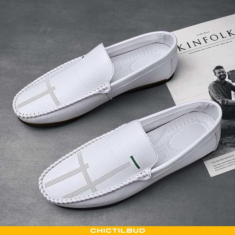 Loafers Herre Mokkasin Casual Ny