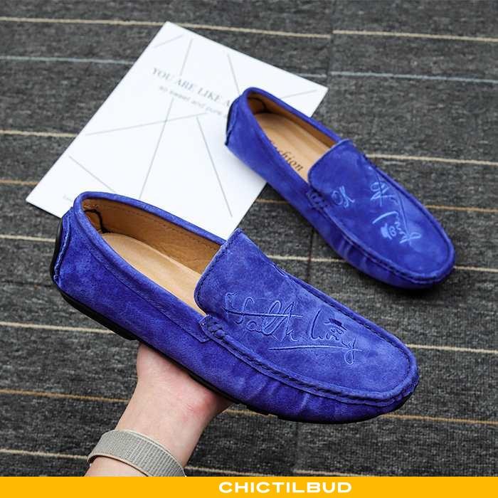 Loafers Herre Mokkasin Læder Sommer 2020