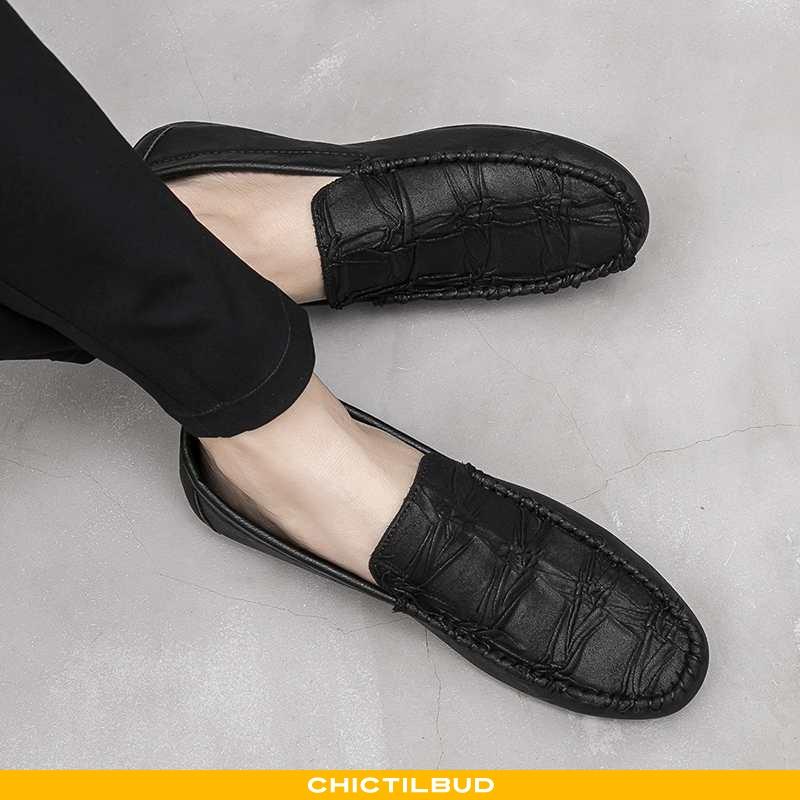 Loafers Herre Mokkasin Sommer 2020