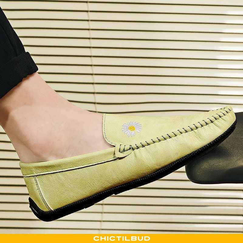 Loafers Herre Mokkasin Sommer Bløde Såler