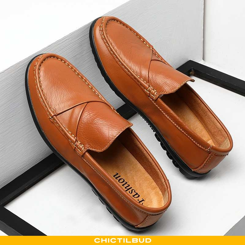 Loafers Herre Mokkasin Sommer Ungdom