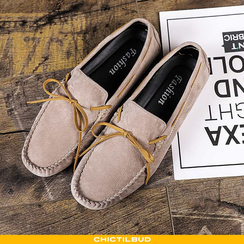Loafers Herre Mokkasin Trend Doven