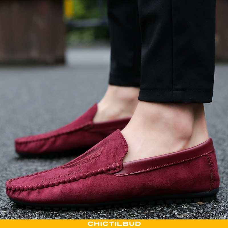 Loafers Herre Mokkasin Trend Ny