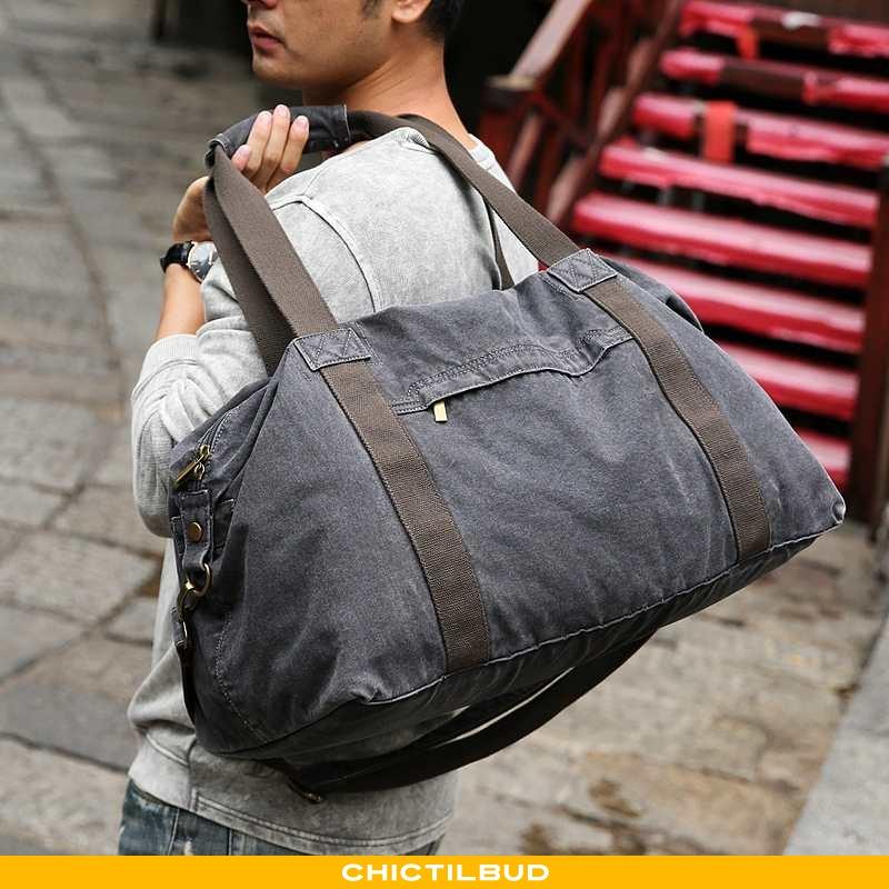 Rejsetaske Herre Håndtaske Canvas Casual Forretningsrejse