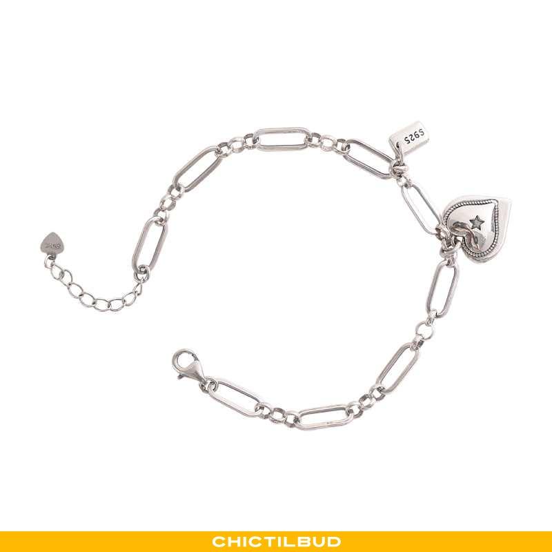 Sølv Smykker Dame Designer Kærlighed