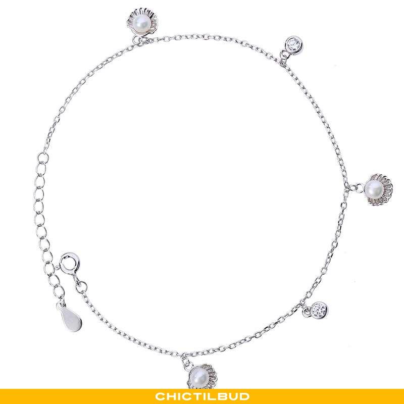Sølv Smykker Dame Designer Shell