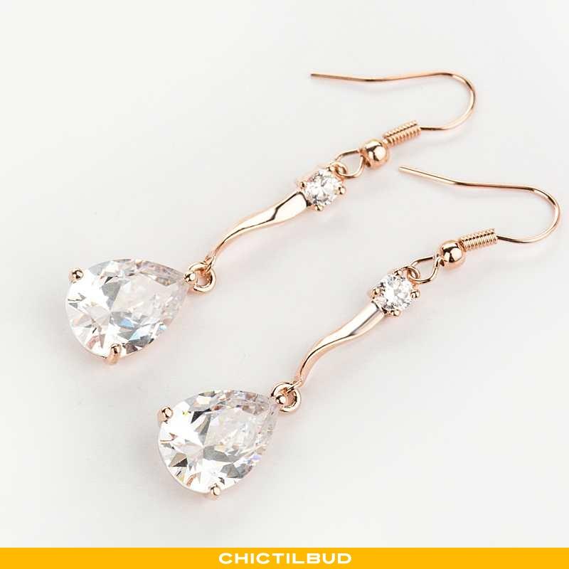 Sølv Smykker Dame Elegante Guld