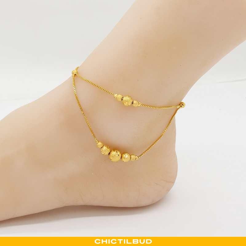 Sølv Smykker Dame Gul Guld