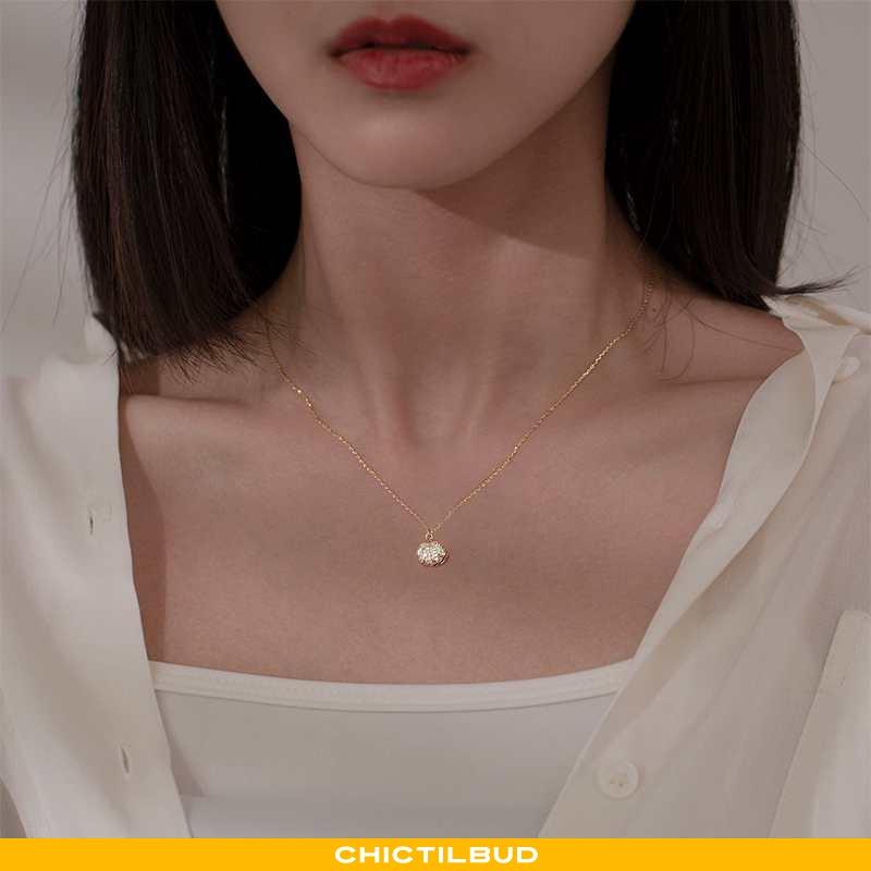 Sølv Smykker Dame Lette Simple Guld