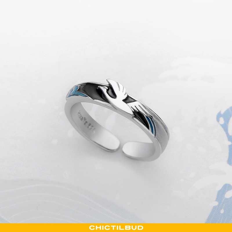 Sølv Smykker Herre Designer Sort