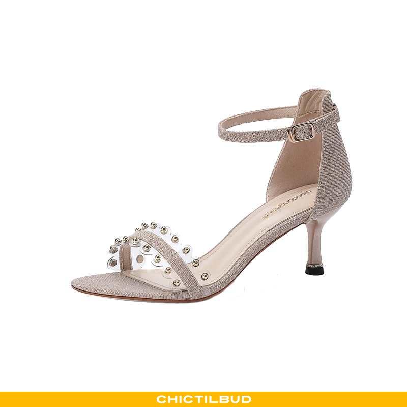 Sandaler Dame Designer Kvinder Khaki