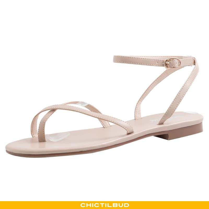 Sandaler Dame Flade 2020 Khaki
