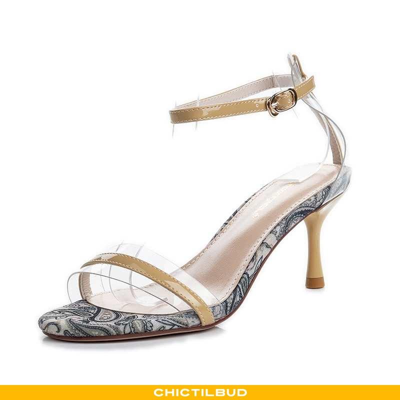 Sandaler Dame Høje Hæle Mode Sexet