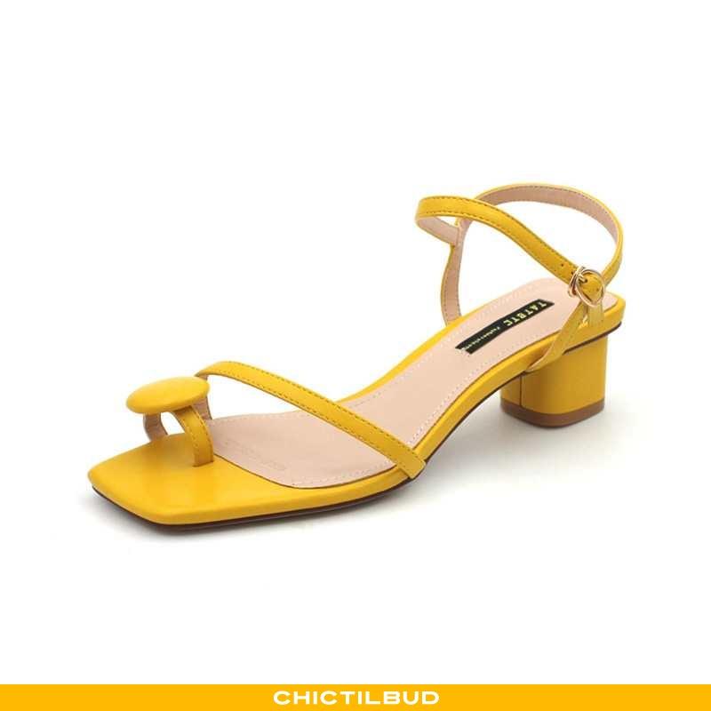 Sandaler Dame Høje Hæle Mode Studerende
