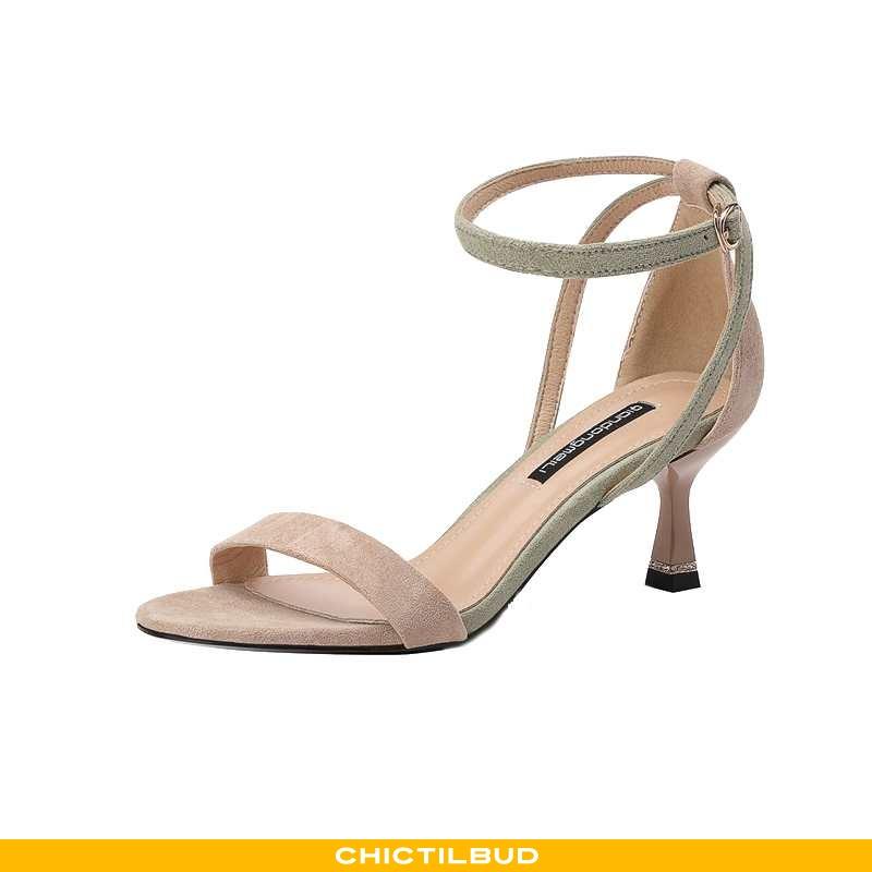 Sandaler Dame Sommer 2020 Grøn