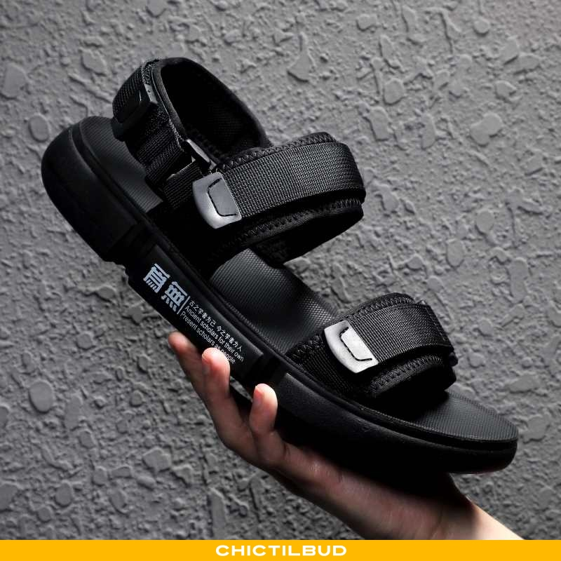 Sandaler Herre Casual 2020 Sort