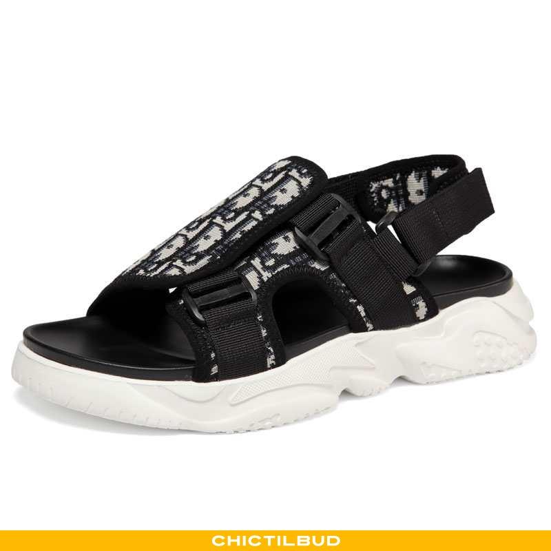 Sandaler Herre Casual Multifunktions Sort