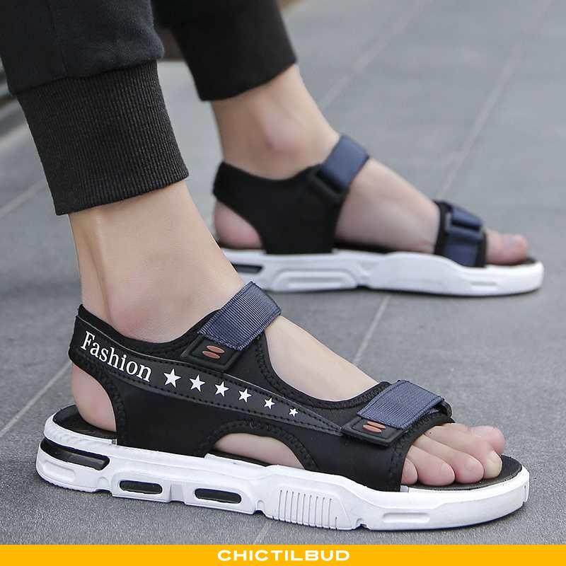 Sandaler Herre Hjemmesko Mode Mørkeblå