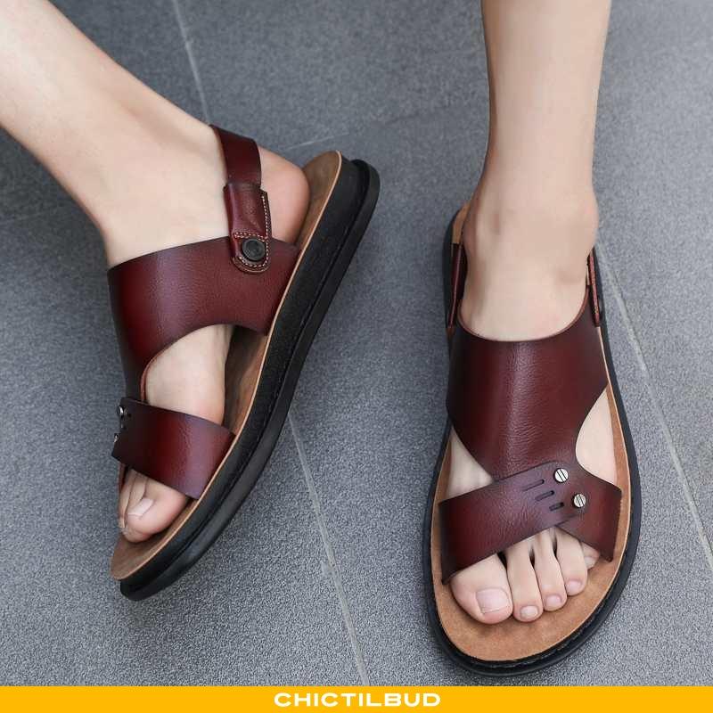 Sandaler Herre Hjemmesko Sommer 2020