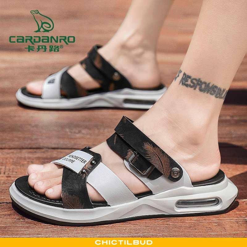 Sandaler Herre Hjemmesko Trend Brun
