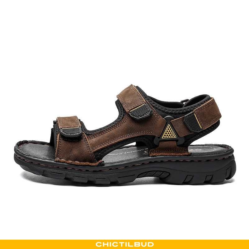 Sandaler Herre Læder Casual 2020