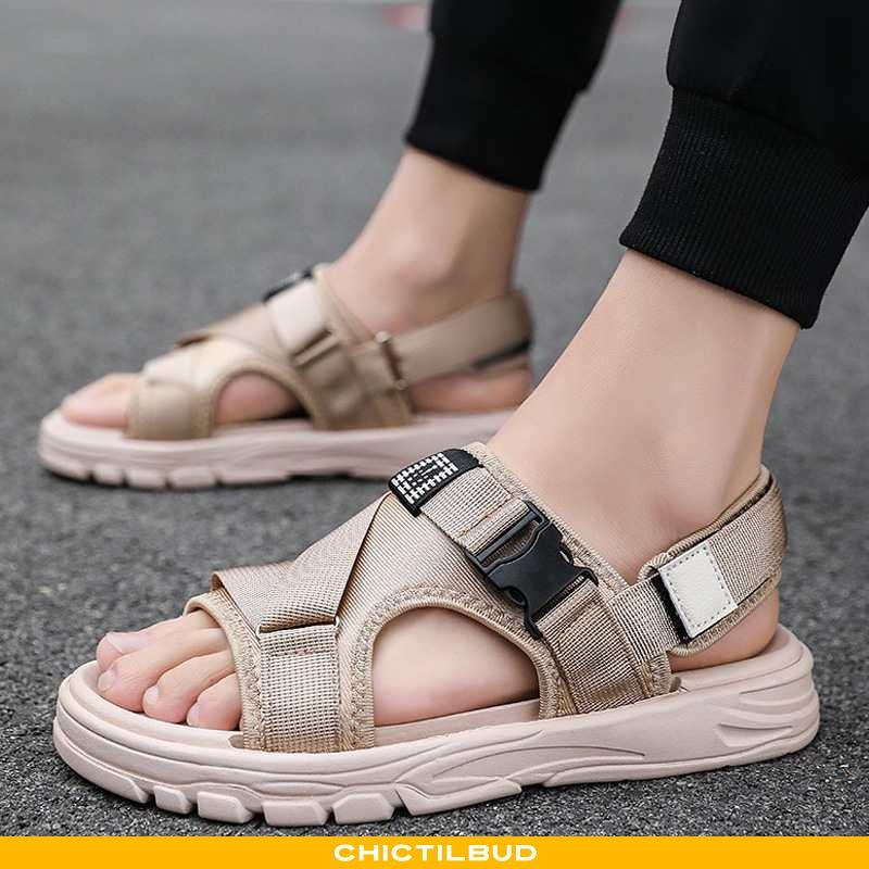 Sandaler Herre Sommer Personlighed Khaki
