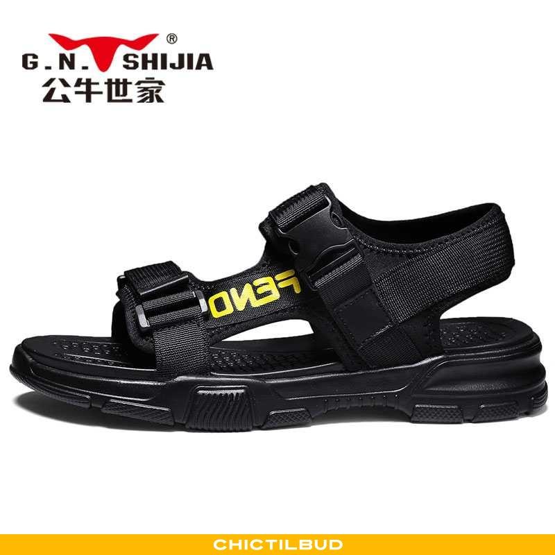 Sandaler Herre Sommer Sort