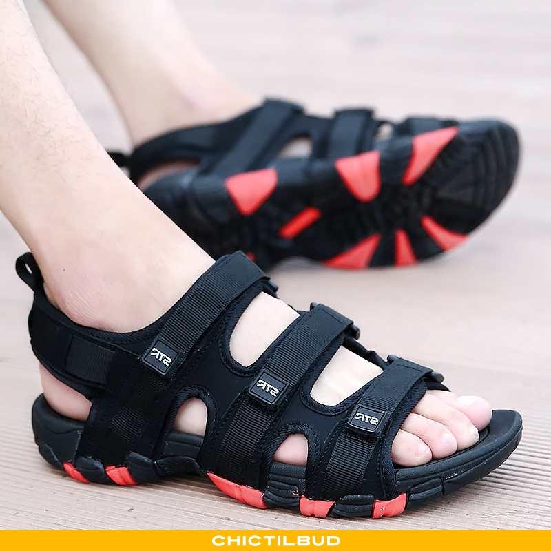 Sandaler Herre Sports Bløde Såler Sort