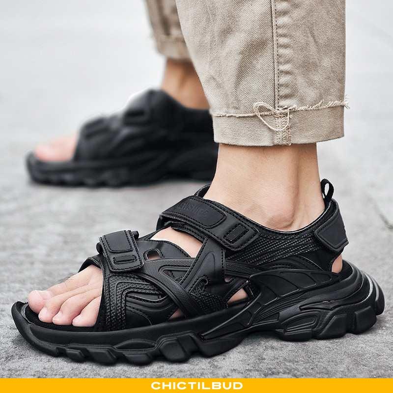 Sandaler Herre Strand Sort