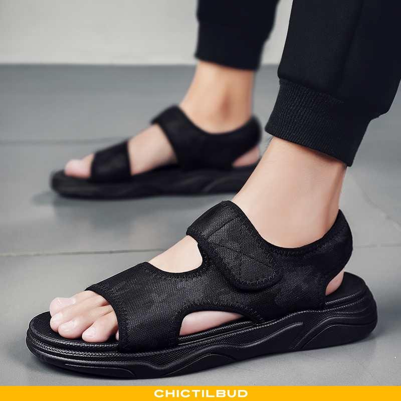 Sandaler Herre Trend Mænd Sort