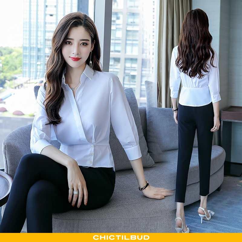 Skjorter Dame Bluser Skjorter Elegante Smuk