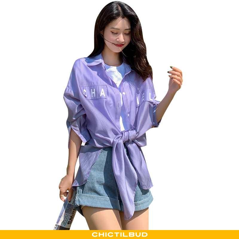 Skjorter Dame Bluser Skjorter Mode Elegante