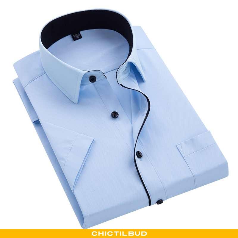 Skjorter Herre Bluser Skjorter Business Mænd