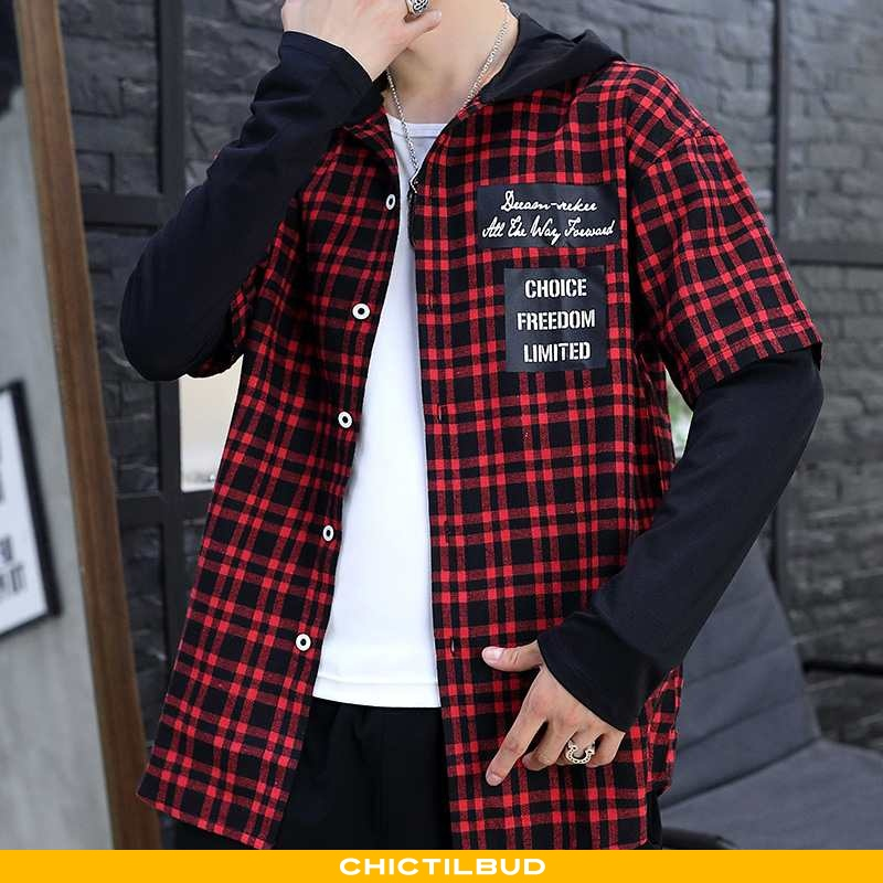 Skjorter Herre Bluser Skjorter Casual Studerende
