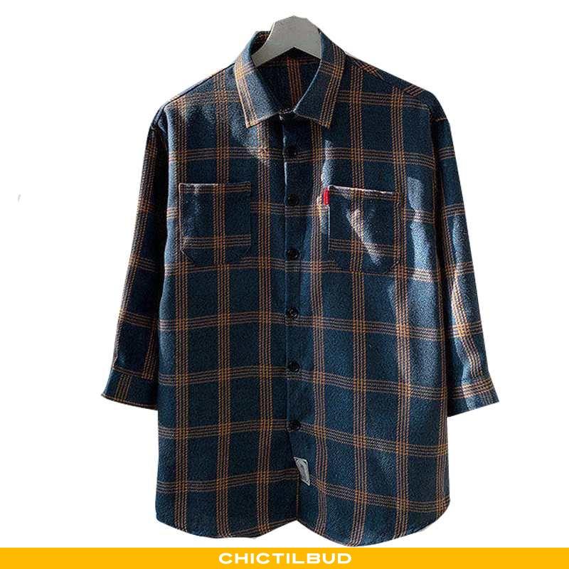 Skjorter Herre Bluser Skjorter Kortærmet Stil