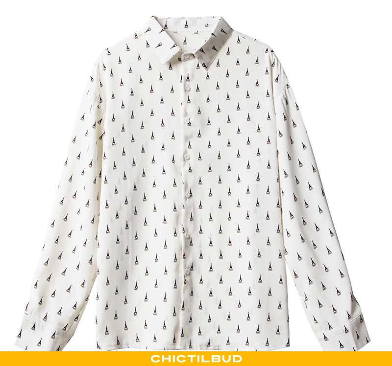 Skjorter Herre Bluser Skjorter Løse Cool