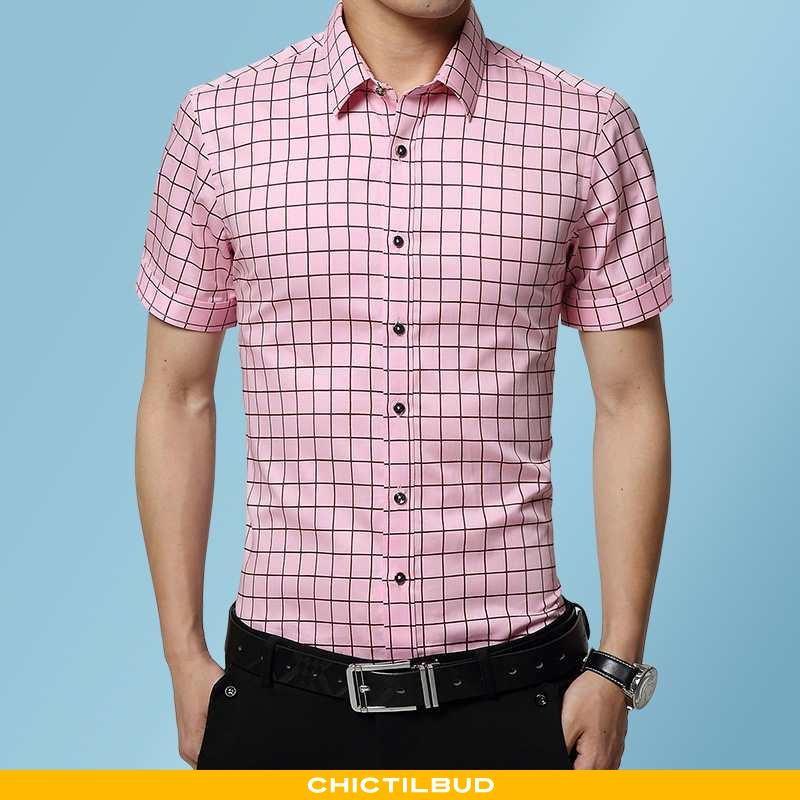 Skjorter Herre Skjorte Trend Mænd
