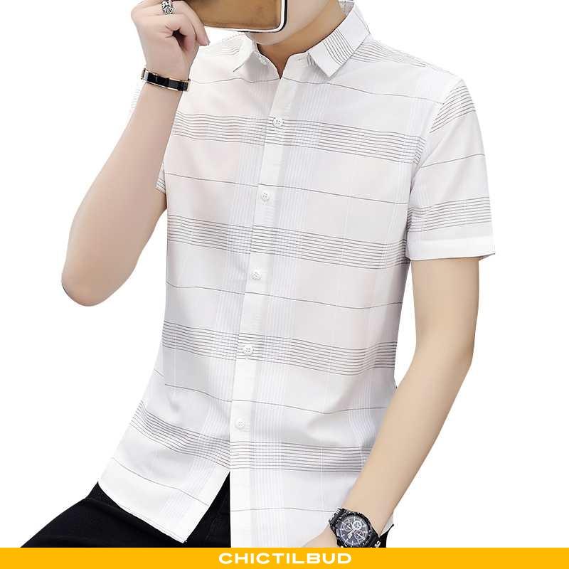 Skjorter Herre Skjorte Trend Smuk