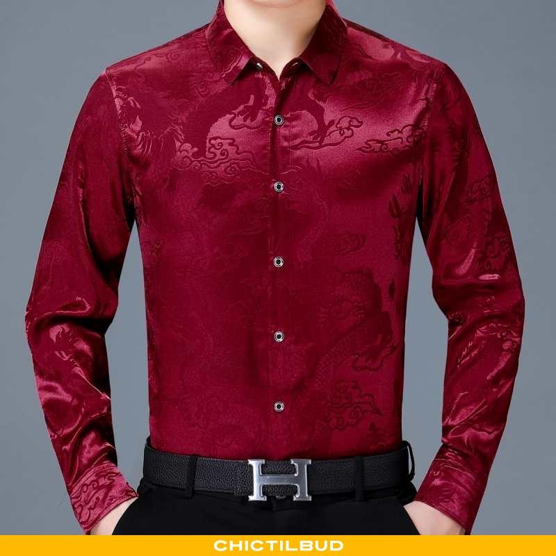 Skjorter Herre Undertrøje Casual Mænd