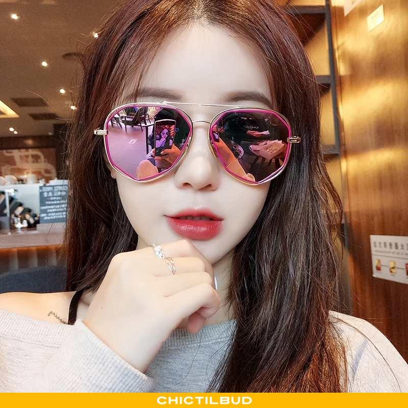 Solbriller Dame Mode Rød Lyserød