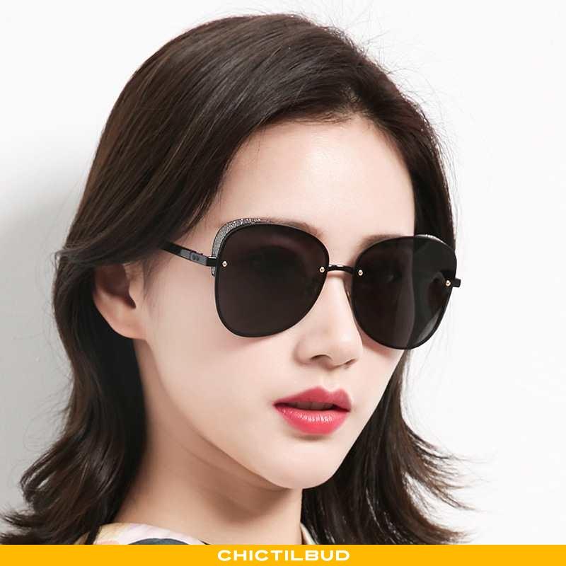 Solbriller Dame Ny Sort