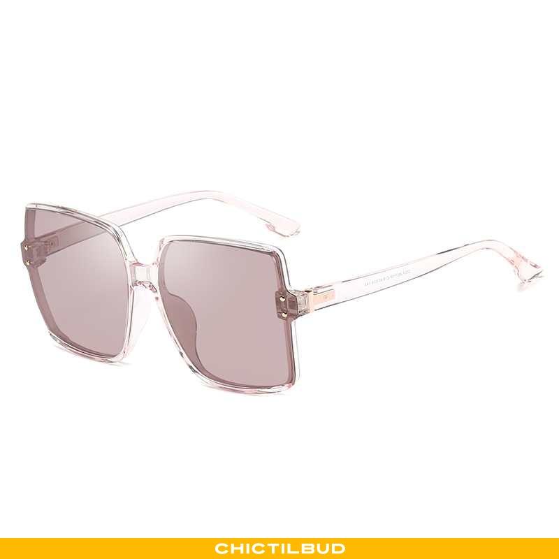 Solbriller Dame Skinny Lyserød